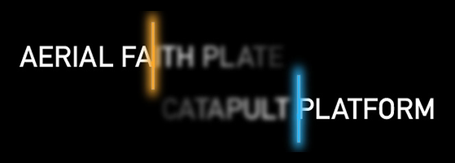 Aerial Faith Plate ... Catapult Platform